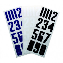Bauer numeri per casco da hockey