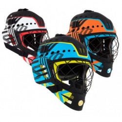 Salming Goalie Travis Elite casco portiere per floorball - Senior