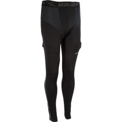 Bauer Premium Compression Pant breve pantaloni per hockey - Youth