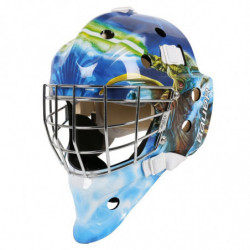 "Bauer NME 3 Star Wars ""Yoda"" casco portiere per hockey - Youth"