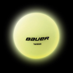 Bauer glow in the dark palla per hockey