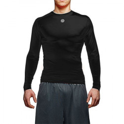 Warrior basis comp top maglia stretta con maniche lunge per hockey - Senior
