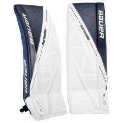 Bauer Supreme S170 paragambe portiere per hockey - Senior