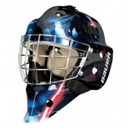 "Bauer NME 3 Star Wars ""Troopers"" casco portiere per hockey - Senior"