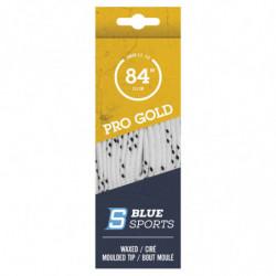 Blue Sports Gold lacci cerati per pattini