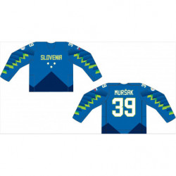 Fan jersey of Slovenian Olympic Hockey Team 2018 premium