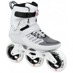 Powerslide Swell Trinity Ultra White 110 pattini inline fitness - Senior