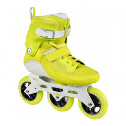 Powerslide Swell Yellow Flash 110 pattini inline fitness - Senior