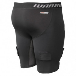 Warrior Nutt Hutt Compression breve pantaloni con conchiglia per hockey - Youth