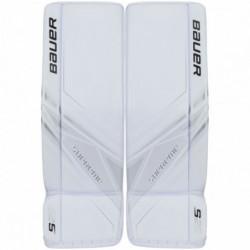 Bauer Supreme S29 paragambe portiere per hockey - Senior