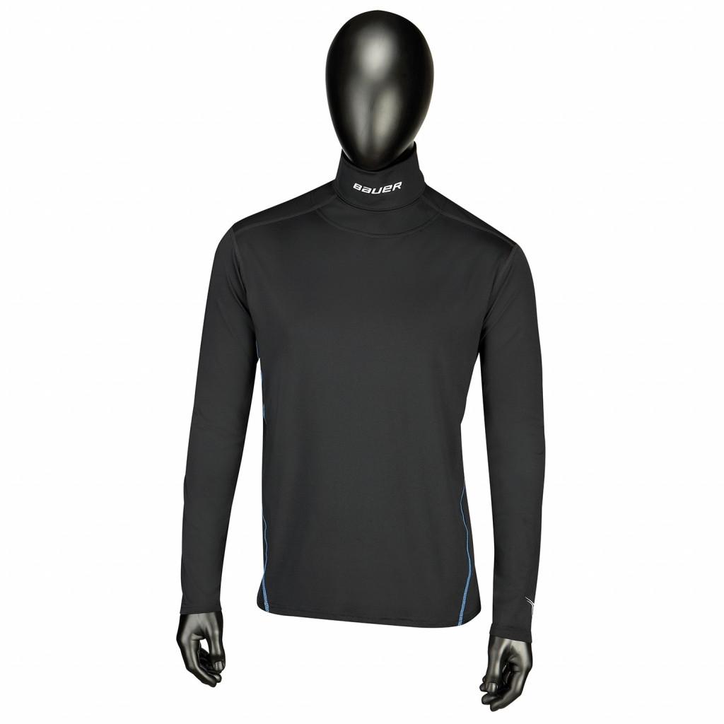 Bauer NG Core Neckprotect  LS Top maglia con maniche lunge per hockey - Senior