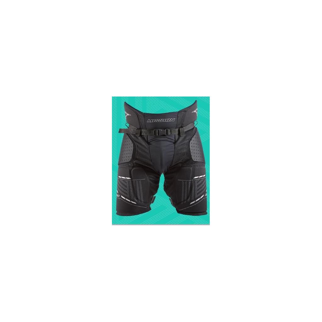 Mission Girdle Core pantaloni per inline hockey - Junior