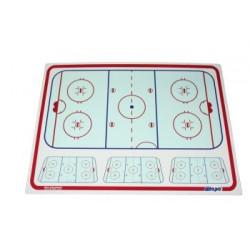 Blue Sports bordo per allenatore da hockey - 112 x 81 cm - 4 mm